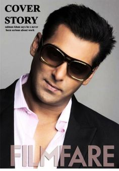 Salman Khan on the cover of Filmfare