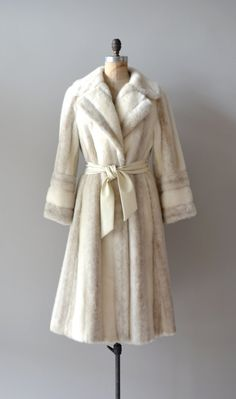 1970s faux fur coat | Where the Snows Are