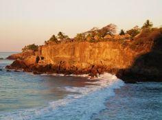 Beach in El Salvador