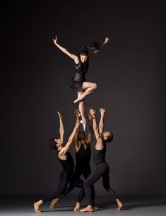 New York City Ballet dancers.