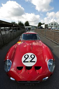 ferrari 250 gto Goodwood Revival 2010 - testing by david_b, via Flickr