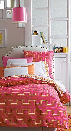 Gorgeous bedding! Serena & Lily