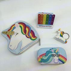 Mini limas de Uñas de Unicornio con Arco Iris #unicornio #limasdeuñas #limas #uñas #arcoiris #corazones #estrellas #originales #diseño #kids #niñas #niños #unicorn #fantasía