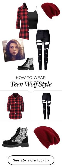 """""""Larisa Zani"""" by lizzyoffrance on Polyvore featuring WithChic, T.U.K. and Halogen"""