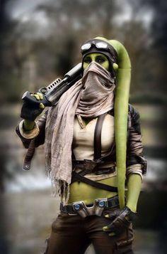 Custom Lego Star Wars Female Flesh color young Twi Lek