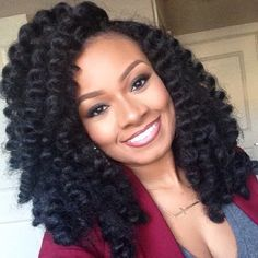 Hair, makeup & brows! {Grow Lust Worthy Hair FASTER Naturally} Go To: www.HairTriggerr.com What a Gorgeous Curly Natural!!!! Natural Hair Styles For Black Women, Long Hair Styles, Curly Crochet Braids, Crochets Braids, Crochet Braids Hairstyles, Crochet Hair Styles, Curled Hairstyles, Natural Hairstyles, Black Hairstyles