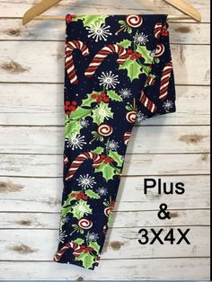 EXTRA PLUS TC2 Womens Super Soft Solid Plain BROWN Christmas Leggings Size 16-24