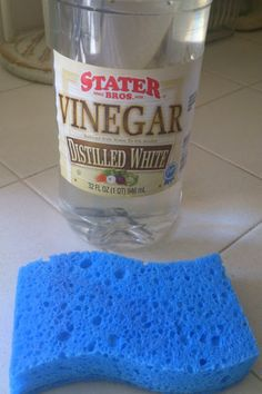 remove hard water deposits from glass doors, windows and chrome. Sunny Simple Life