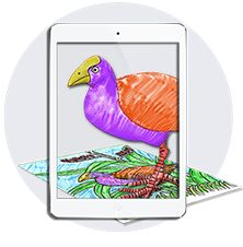 Formerly colAR Mix, the original augmented reality coloring app!
