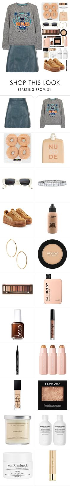 """""""Easy like Sunday morning ⭐️"""" by ludocottoncandyprincess02 ❤ liked on Polyvore featuring Kenzo, COSTUME NATIONAL, Puma, MAC Cosmetics, GUESS by Marciano, Revlon, Essie, Charlotte Russe, NYX and NARS Cosmetics"""