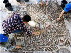 Szenzációs római kori mozaikok kerültek elő Izraelben - Hírek - Múlt-kor történelmi magazin