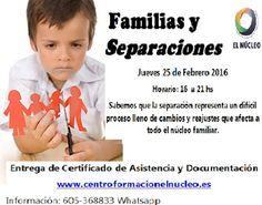 Centro de formación El Nucleo: Familias y Separaciones