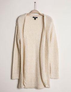 Gilet jeté fils lurex écru Sweaters, Fashion, Boutique Online Shopping, Sons, Woman Clothing, Fashion Ideas, Moda, Fashion Styles, Sweater