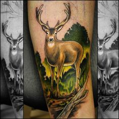 50 Attractive Hunting Tattoo Designs and Ideas Check more at http://tattoo-journal.com/50-attractive-hunting-tattoo-designs-and-ideas/