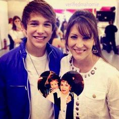 Mama Mahone and Austin :)