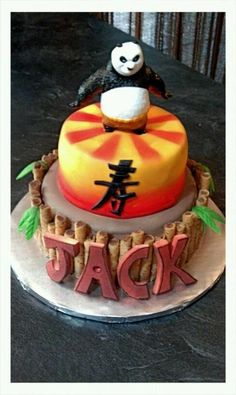 Kung Fu Panda Cake#Pin By:Pinterest++ for iPad#