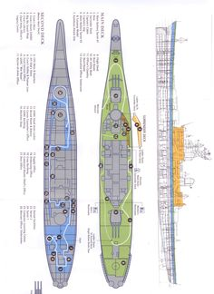 iowa class battleship hull designs - Google Search