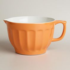 One of my favorite discoveries at WorldMarket.com: Persimmon Melamine Batter Bowl