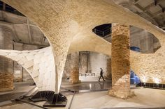 """Aravena's """"Reporting From The Front"""" Is Nothing Like Koolhaas' 2014 Biennale—But It's Equally as Good,The """"Reporting From the Front"""" exhibition. Image © Laurian Ghinitoiu"""