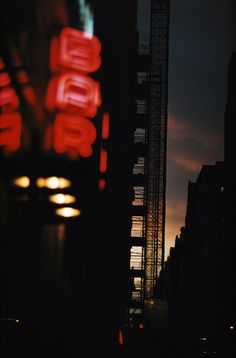 Bar, New York, 1952, Ernst Haas. (1921 - 1986)