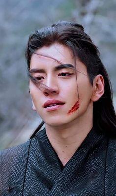 Darren Wang, Wolf, Chinese Characters, Actor Model, Korean Drama, Beautiful Men, Black Hair, Sexy Men, Pop Culture