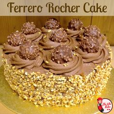 Love this ladies recipies Ferrero Rocher Cake - She Who Bakes