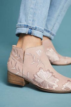 Seychelles Lantern Embroidered Booties  Anthropologie  ad 1f7ff53b209