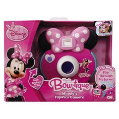 Minnie's Bow-tique Toys | Disney Minnie Bowtique Flippics Camera