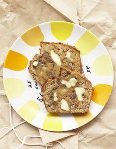 banana and walnut bread pour 12 personnes - Recettes Elle à Table