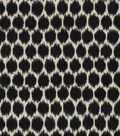 Home Decor Print Fabric-Waverly Seeing Spots Noir, , hi-res