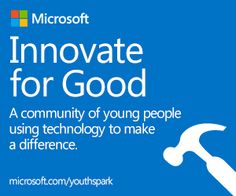 Innovate for Good #YouthSpark