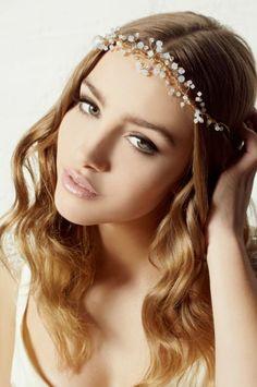 Best Ideas Vintage Wedding Makeup Bridal Looks Eye Hair Pieces Bride Makeup, Wedding Hair And Makeup, Hair Makeup, Hair Wedding, Boho Wedding, Wedding Ideas, Bridal Beauty, Wedding Beauty, Pretty Hairstyles