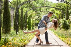 Nashville Cheekwood Gardens Engagement Session Photo #Nashville #Engagement…