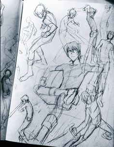 klance   Tumblr. I so want to learn how to draw like that.