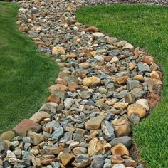 75 gorgeous dry river creek bed design ideas on budget (59)