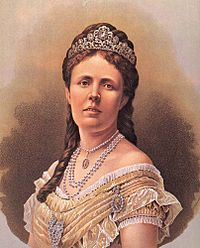 Sophia of Nassau (1836 - 1913). Queen of Sweden from 1872 until 1907, when her husband died. She was married to Oscar II, and had four sons. She was very respected and when she died she was seen as a symbol of the old Victorian regime.