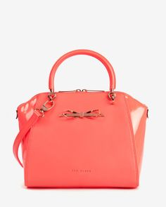 Ted Baker | Small slim bow tote bag