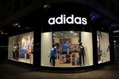 Adidas Window Display