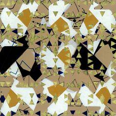 To gild the blue. Acrílico y pan de oro sobre madera. 30 x 30 x 3 cm. 2009.