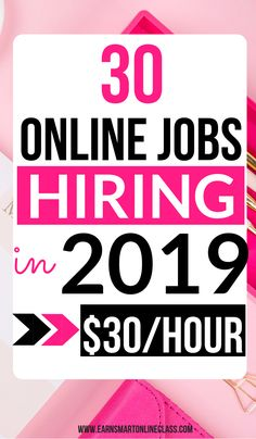 Want to make money in Here are 30 online jobs hiring in These work from home jobs will give you the flexibility to work on your own schedule. earn money while working from home. Work From Home Companies, Online Jobs From Home, Work From Home Opportunities, Work From Home Jobs, Typing Jobs From Home, Earn Money From Home, Make Money Fast, Earn Money Online, Making Money From Home
