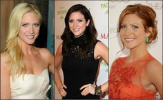 "Brittany Snow… shows how sometimes even your natural color isnt your best fit. I choose red over my blonde anyday love it""!!!"