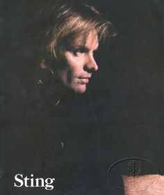 Sting 1987 /1988 concert tour program for Nothing like the sun