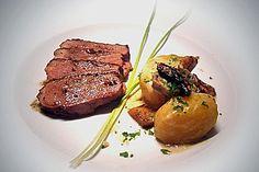 Steinpilz - Rahmkartoffeln mit Entenbrust (Rezept mit Bild) | Chefkoch.de