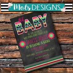 Any Color FONT WEDDING Watercolor Flowers String Lights Pink Chalkboard Couples Baby Shower Rehearsal Reception Engagement Rustic Invitation Baby Shower Brunch, Shower Party, Baby Shower Parties, Baby Shower Themes, Bridal Shower, Shower Ideas, Fiesta Shower, Sprinkle Shower, Baby Sprinkle