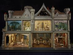 Inside the magical doll house created by the Hollywood silent star Coleen Moore at The Museum of Science and Industry