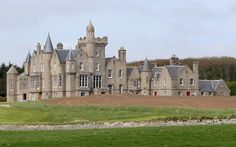 castles in england | as the most northerly castle hotel in the world, Balfour Castle ...