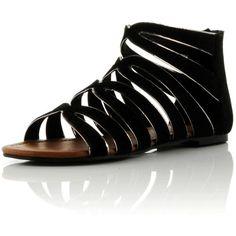 Bank Xena Gladiator Sandal ❤ liked on Polyvore