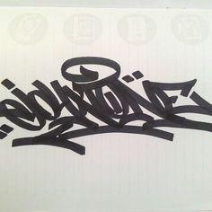 "14 Me gusta, 1 comentarios - JohnOneGraffiti (@john.1.graffiti) en Instagram: ""JohnOne HandStyle #graffiti  #tag  #handstyle"""