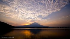 Mt.Fuji Japan 富士の空に…