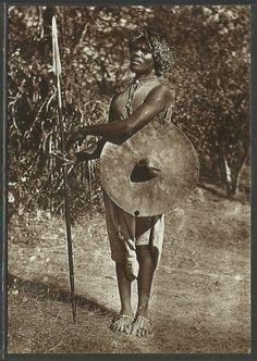Eritrean warrior